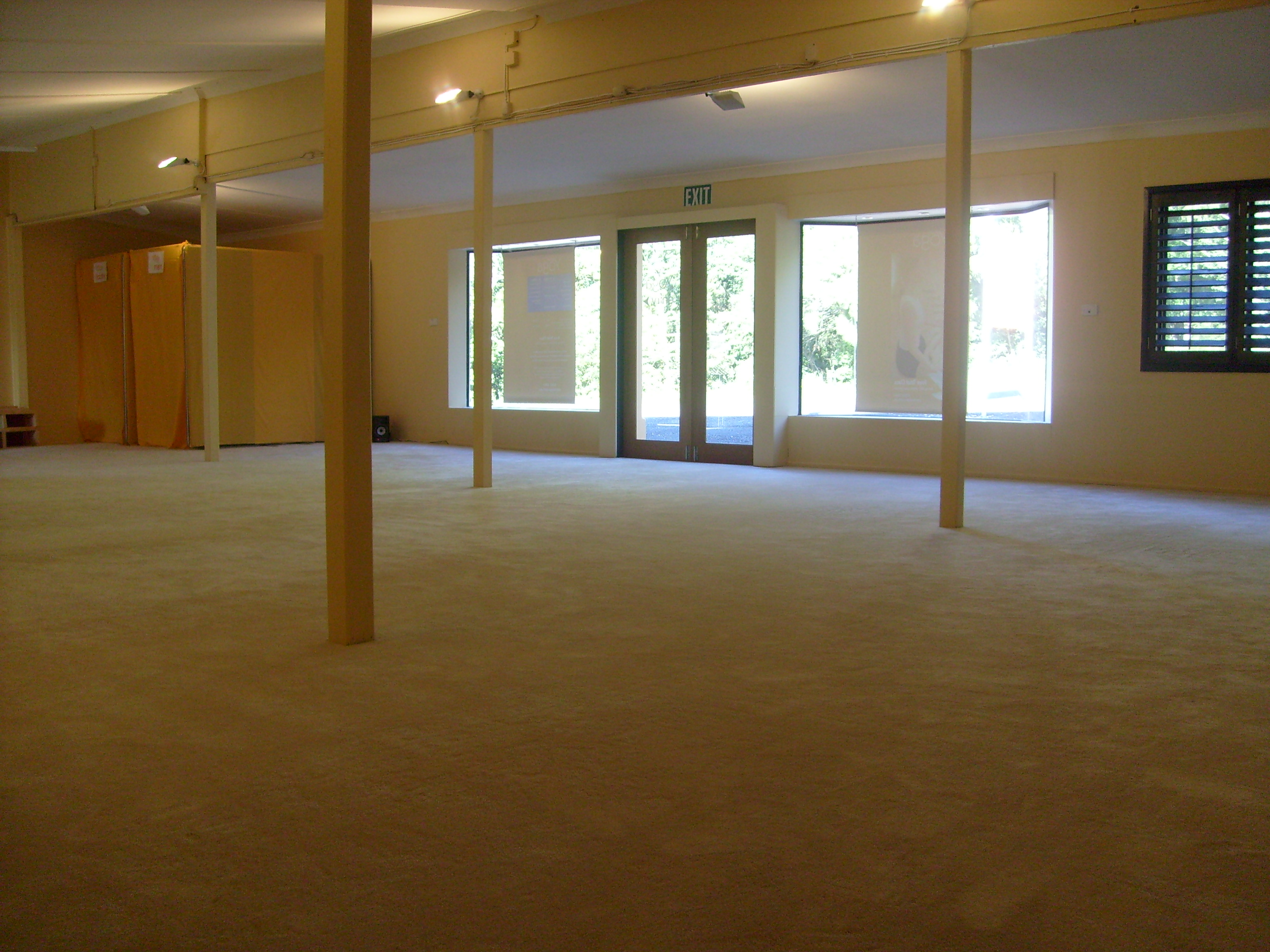 Inside Port Macquarie Yoga Center